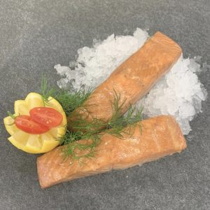 kiln smoked salmon fillet