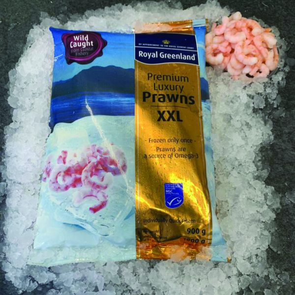 Royal Greenland Wild Peeled Luxury Prawns (1kg) (900g drained weight)