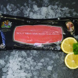 John Ross Beech Smoked Salmon (454g / 1lb)